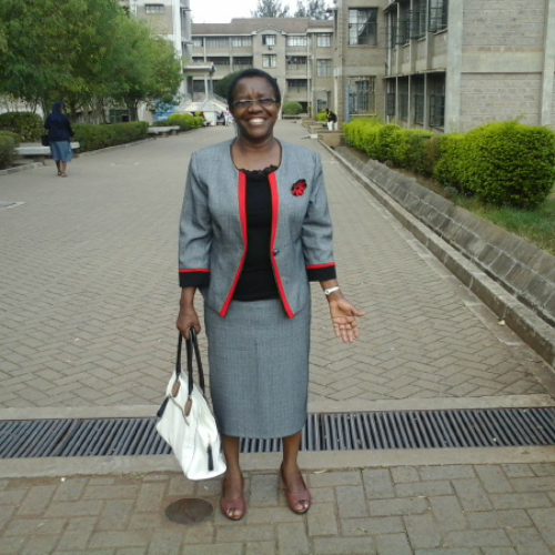 Dr Sarah Kimani, Dean of Catholic University of Eastern Africa's School of Business