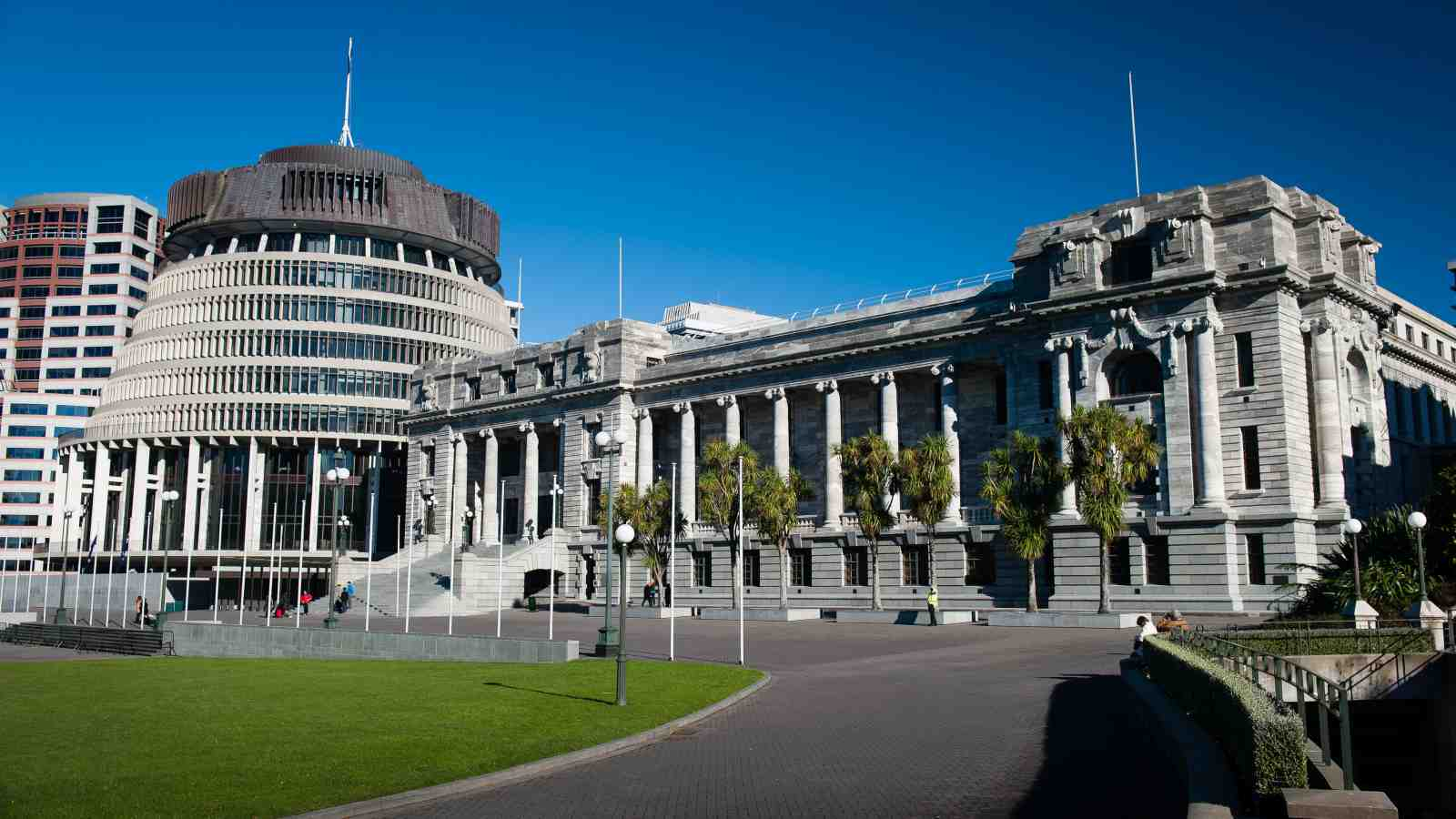 image of New Zealand government buildings