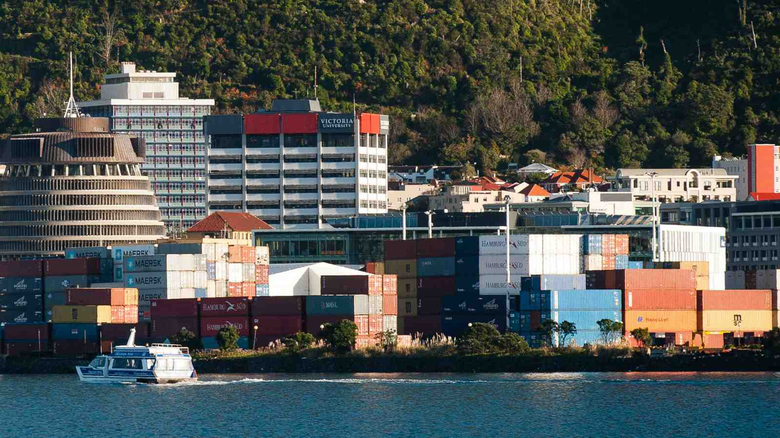 Wellington waterfront image