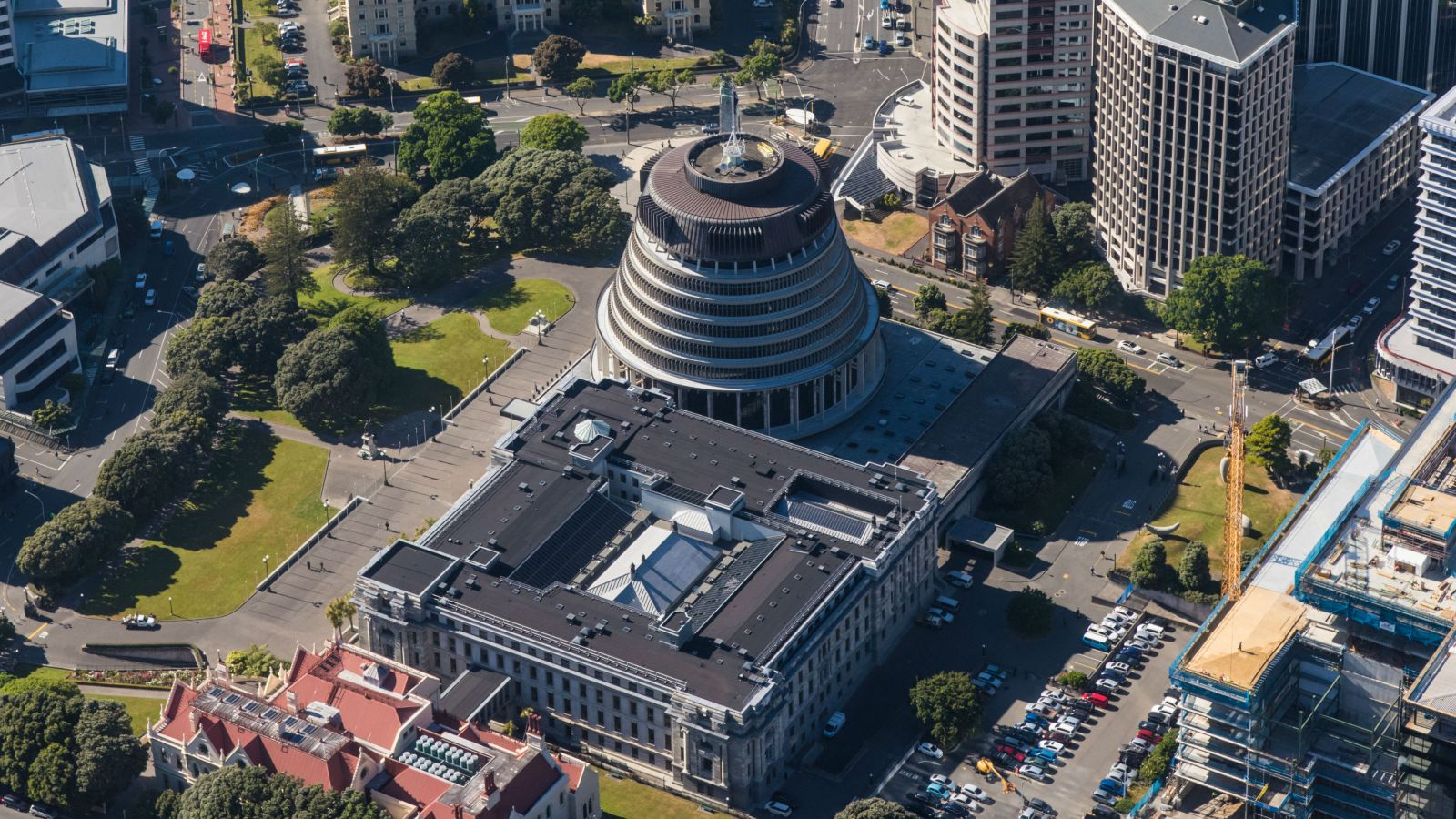 image of NZ government buildings