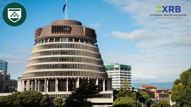 New Zealand's parliamentary executive wing building, known as the Beehive.