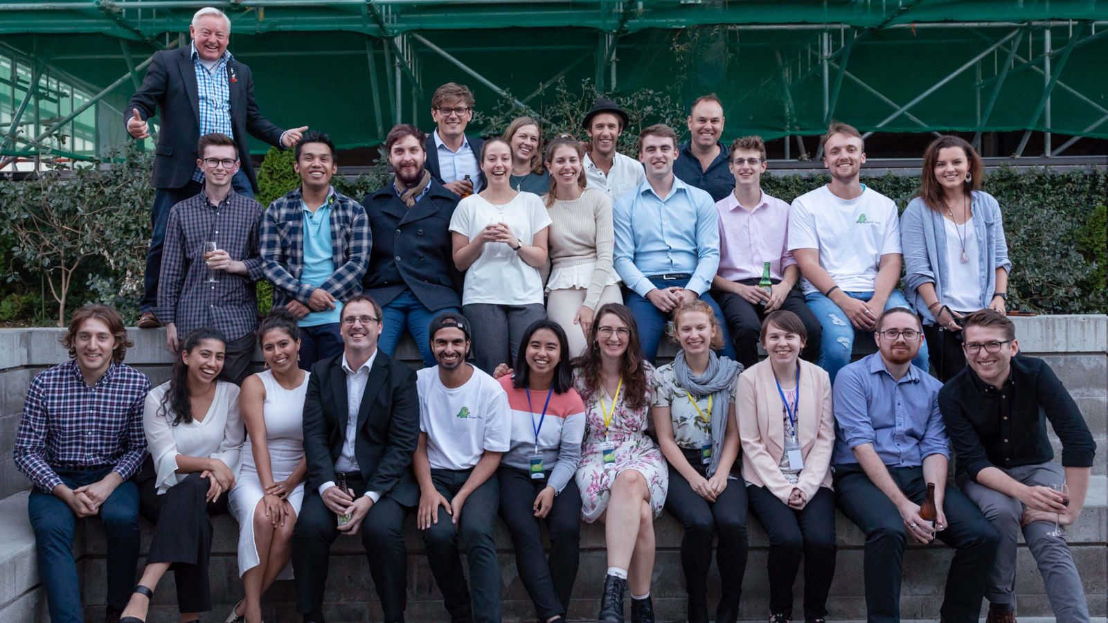 Participants from the Victoria Entrepreneur Bootcamp 2019
