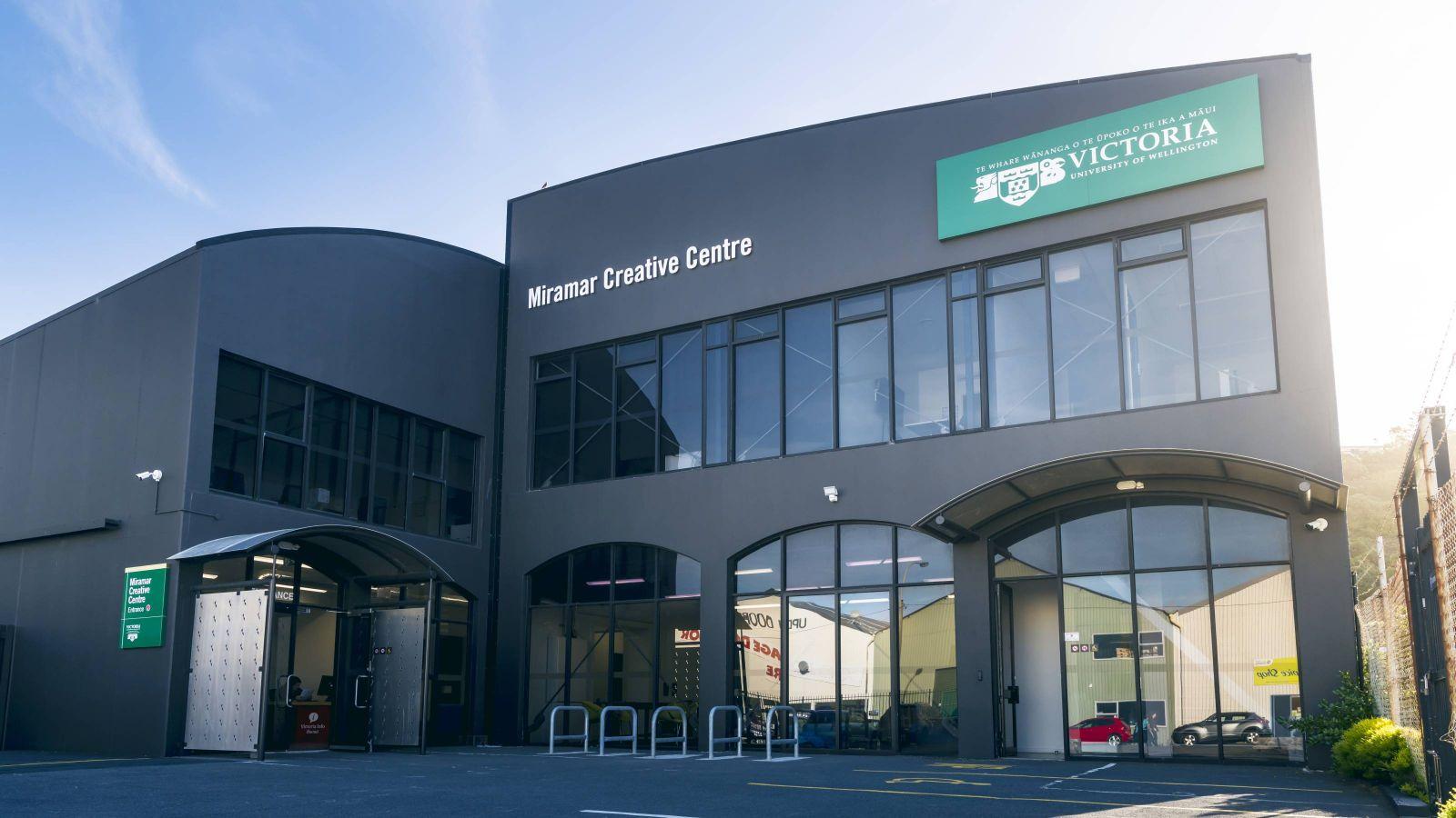 Miramar Creative Centre exterior building