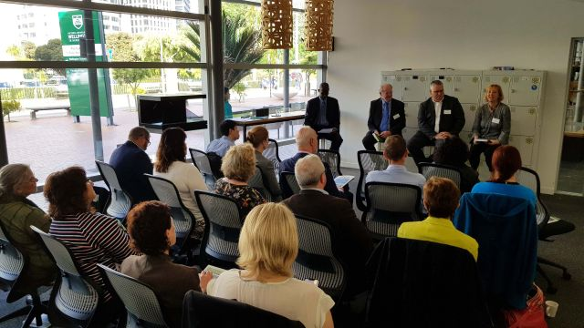 Image from the digital government panel discussion.