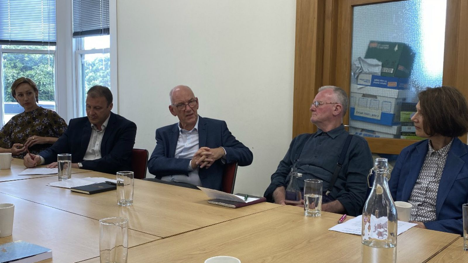 Image of Allan Gyngell roundtable