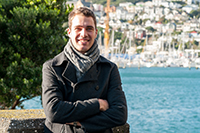 Andrew Milne, BCom student majoring in Accounting, Finance and Commercial Law