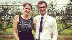 Siblings & PhD students Katy & Callum Chamberlain