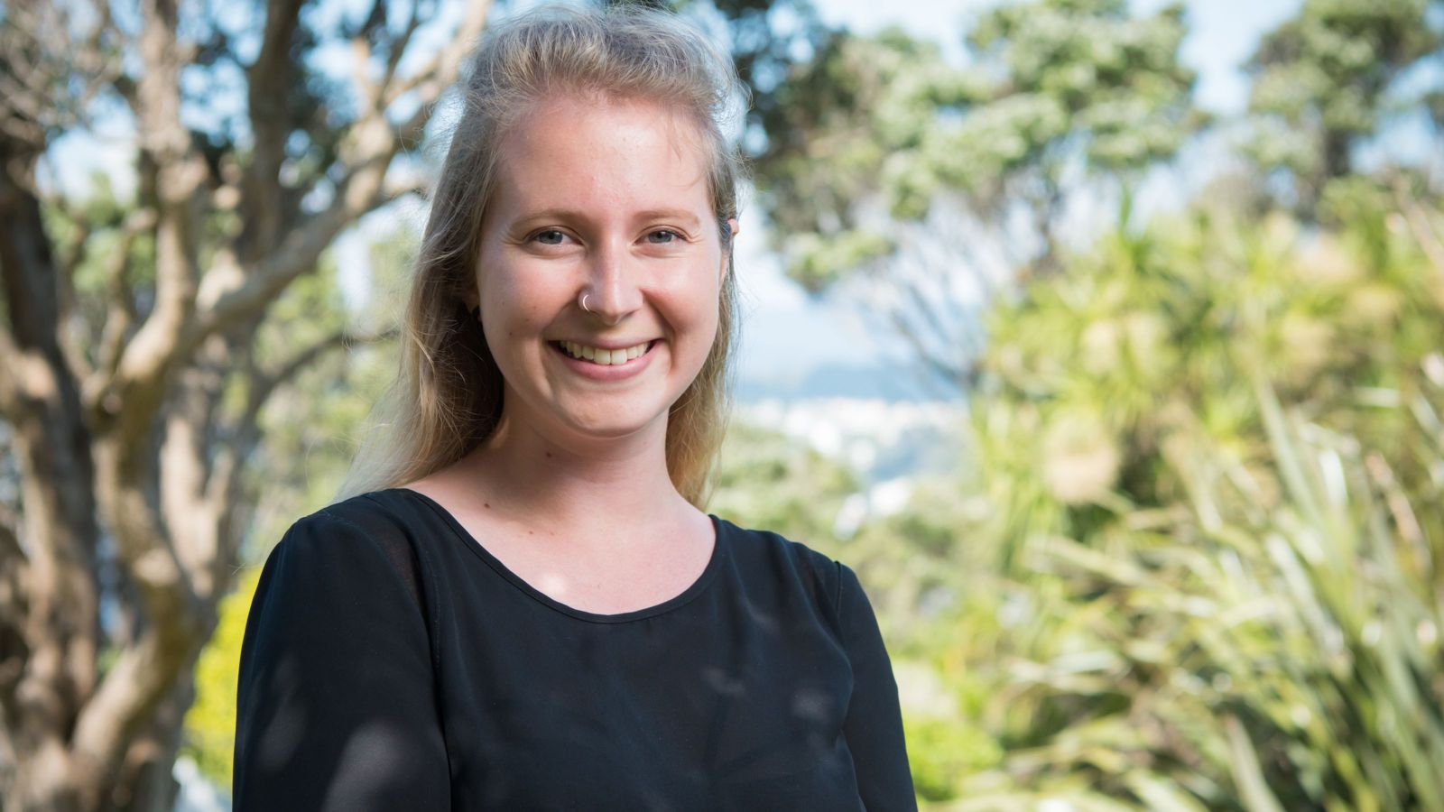 PhD candidate Gloria Fraser