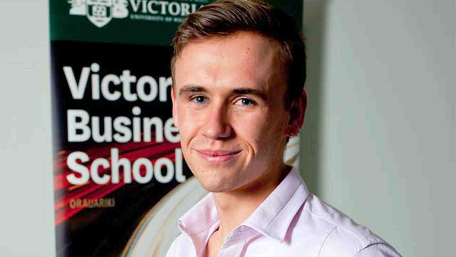 A profile image of PhD graduate in Marketing, Hamish Simmonds.