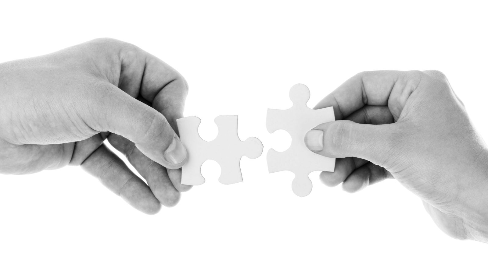 puzzle pieces connecting together