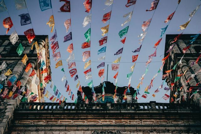 Flags in Mexico