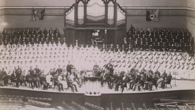 Orchestra of the New Zealand and South Seas Exhibition (1889).