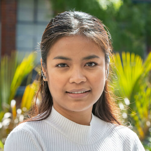 New Zealand Scholarship student Chansocheata Poum from Cambodia.