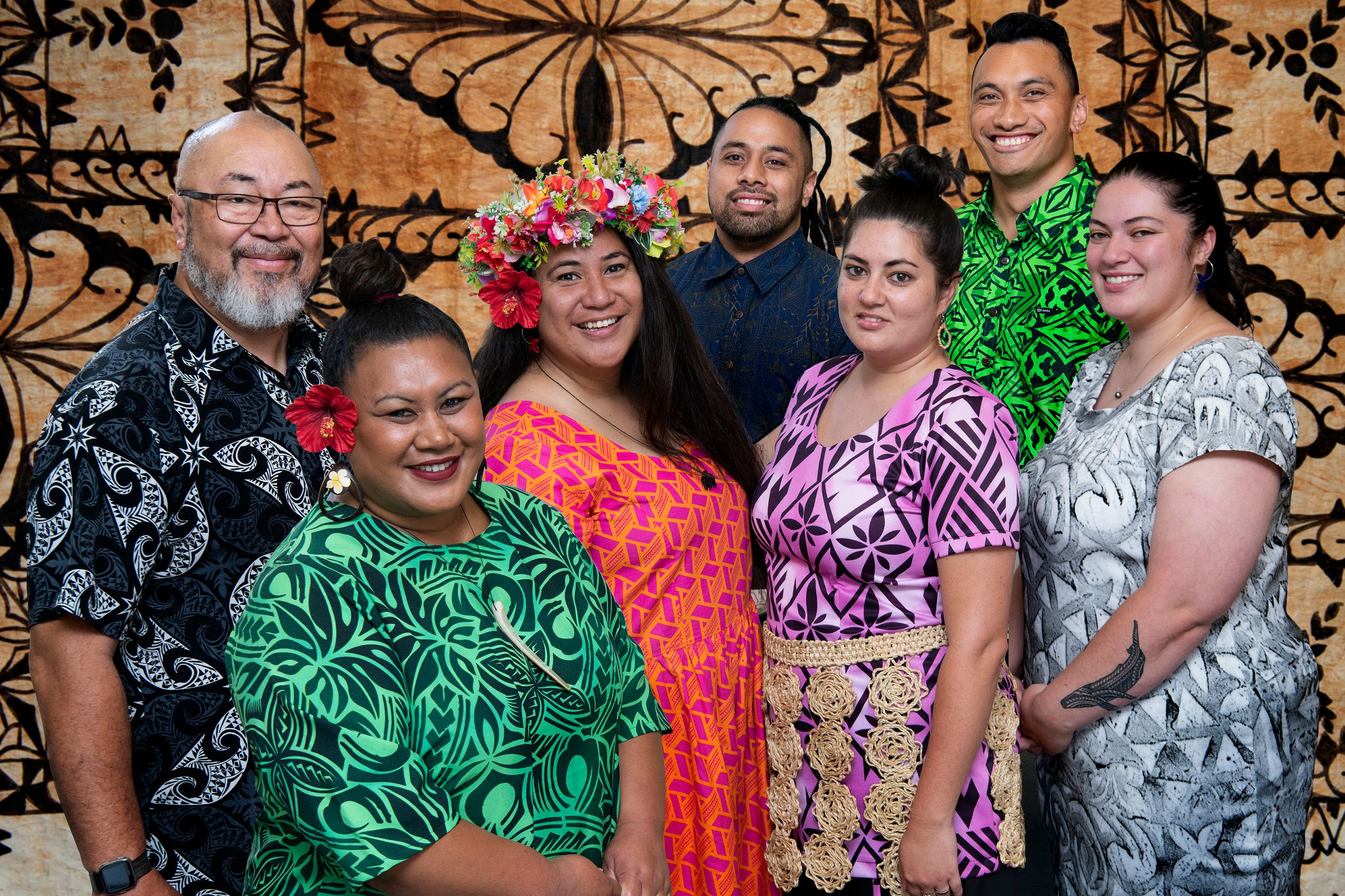 Key support staff from the Pasifika Stuent Success team
