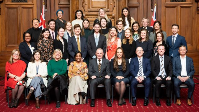 2021 Parliamentary Interns and MPs