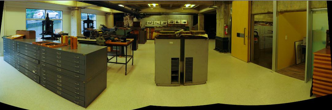 Wai-te-ata Book Arts Studio.