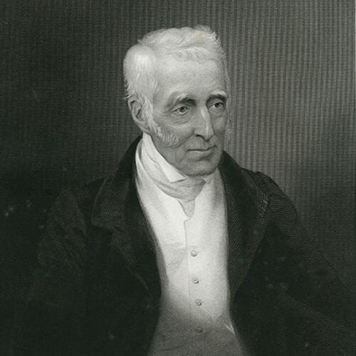 The Duke of Wellington, stipple engraving based on a daguerreotype (1845).