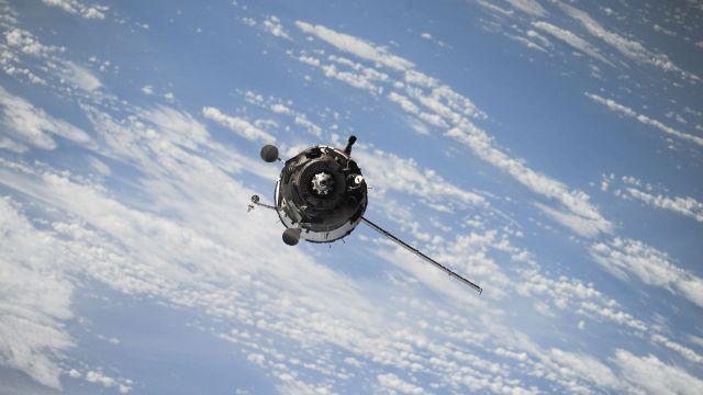 Satellite. Image by NASA.