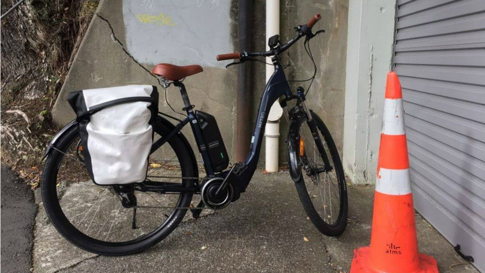 University staff shared ebike