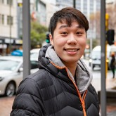 Tsung-Han Wu, Master of Global Business student from Taiwan.