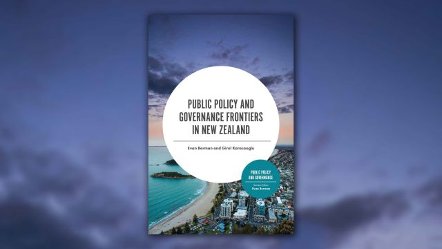 Book cover for Public Policy and Governance Frontiers
