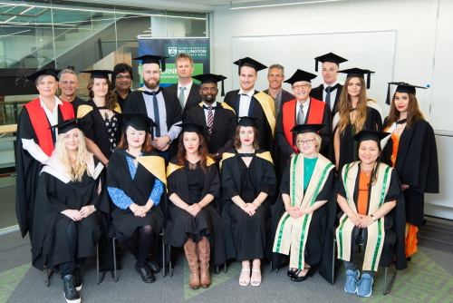 Government graduands 2020 with Head of School