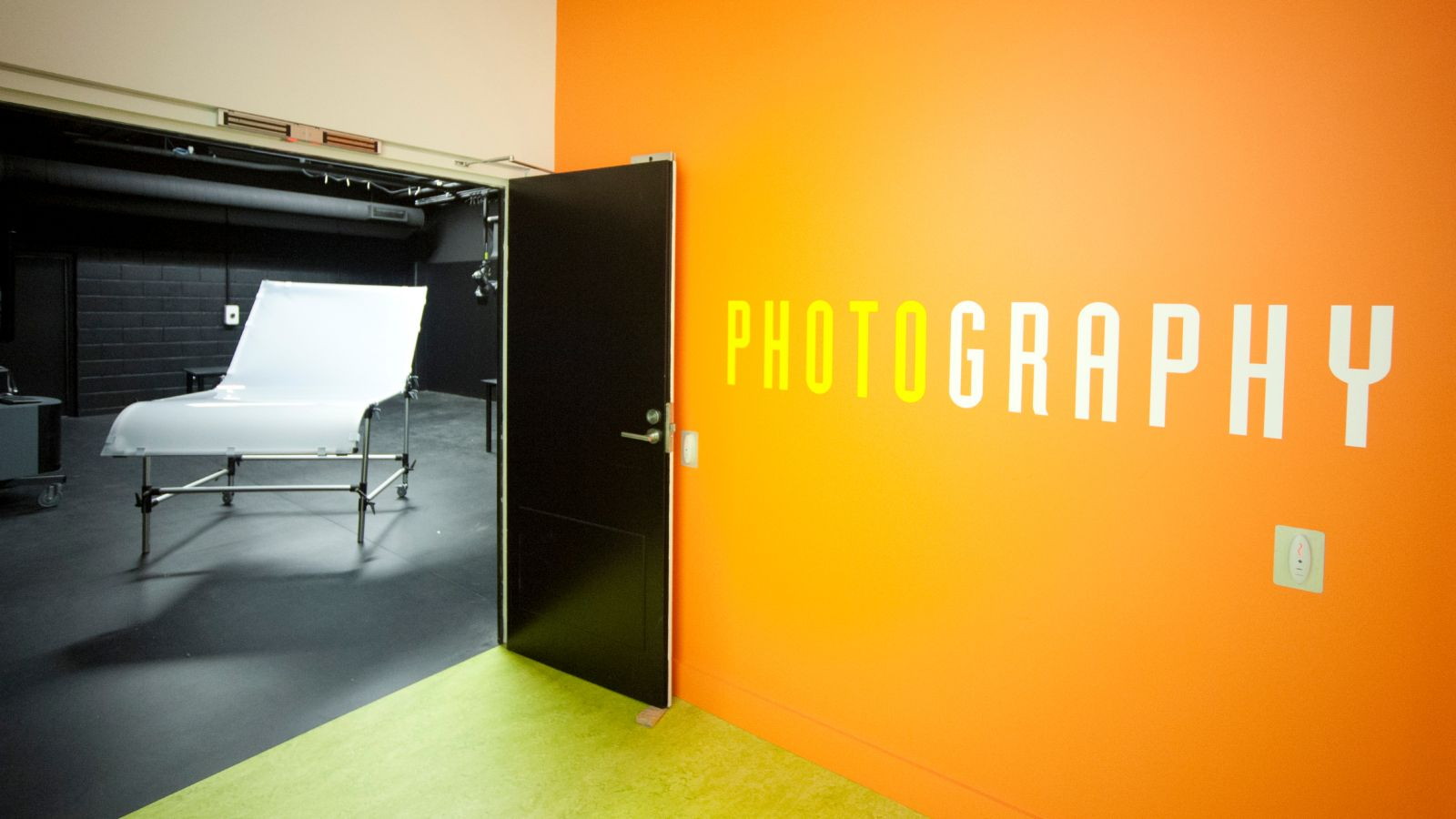 Wellington Faculty of Architecture and Design Innovation photography studio