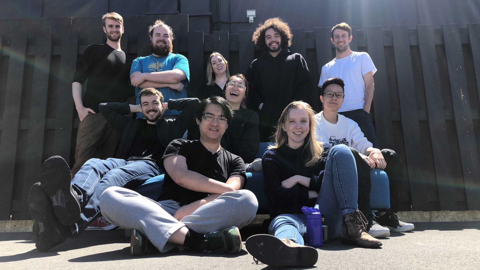 MDT students in a group photo