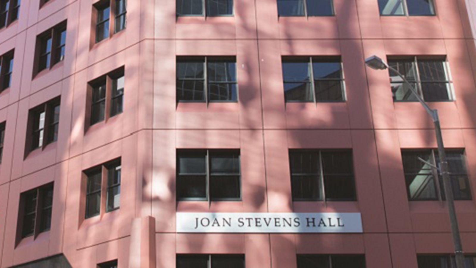 Joan stevens hall