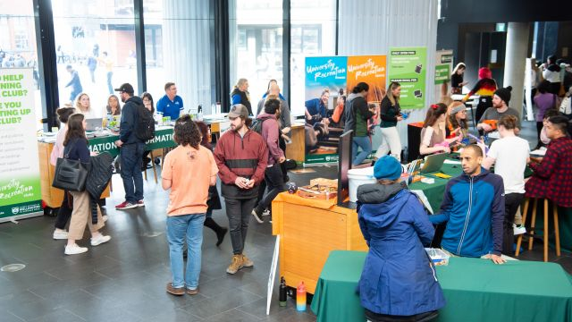 The information table at the clubs expo 2020