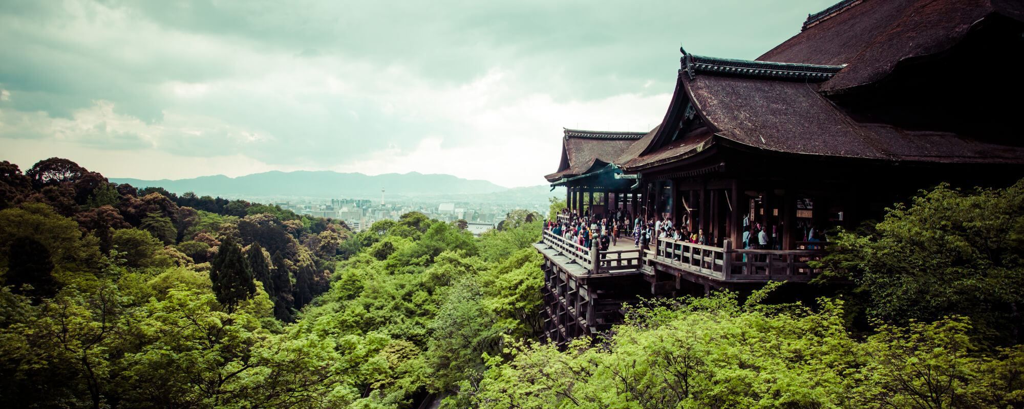BNZ Asia Chair - an image of a large Asian style building in a lush green landscape.