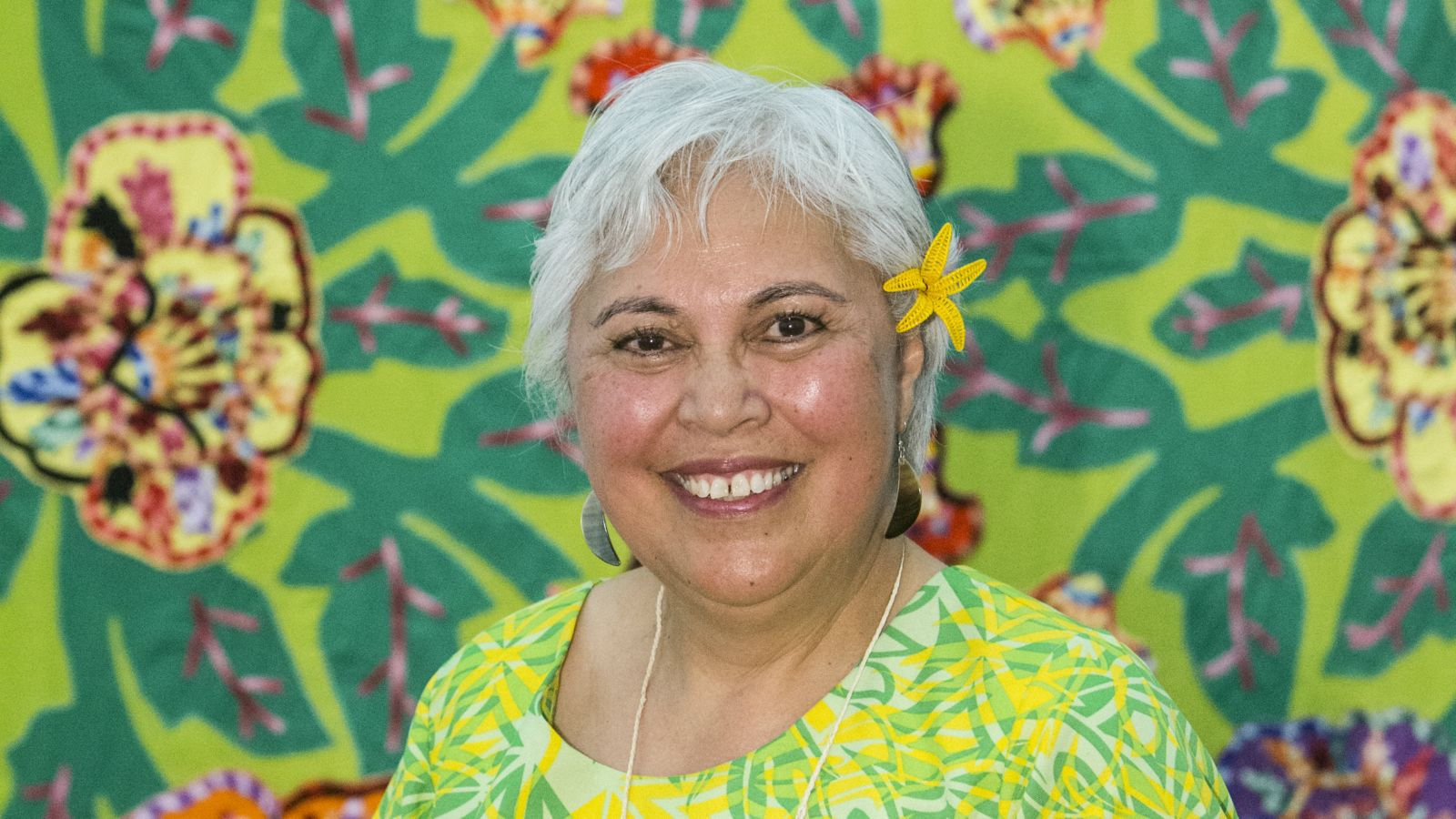 A profile image of Associate Professor Hon. Luamanuvao Dame Winnie Laban.