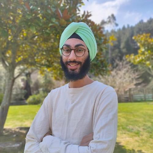 Portrait of Manraj Singh RAHI