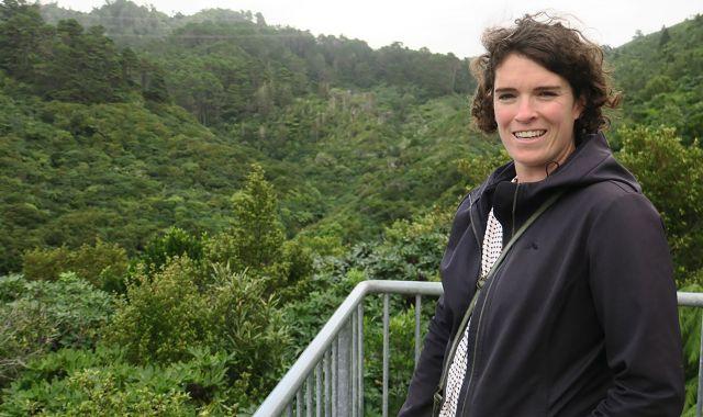 Dr Danielle Shanahan, image courtesy of Zealandia