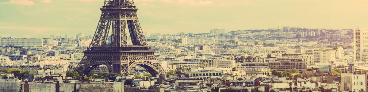 A banner image of Paris.