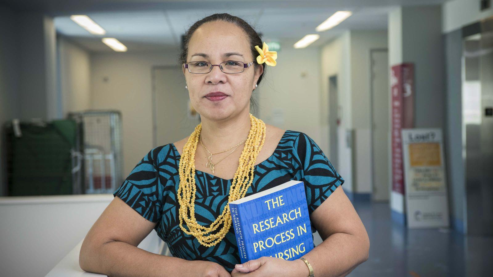 Nursing PhD candidate Ellaine Ete-Rasch