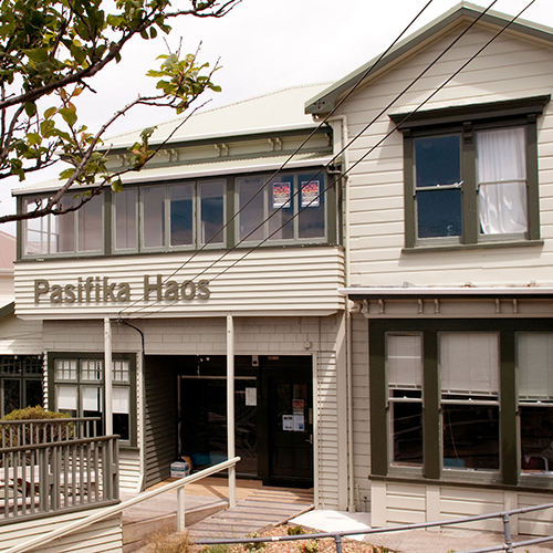 Pasifika Haos building, on Mount Street on the Kelburn campus