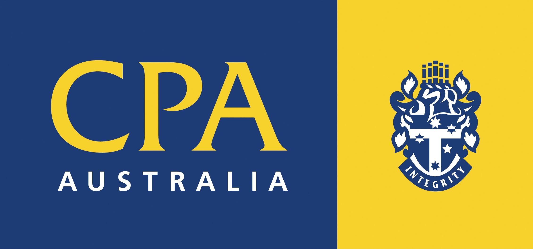 CPA Australia logo.
