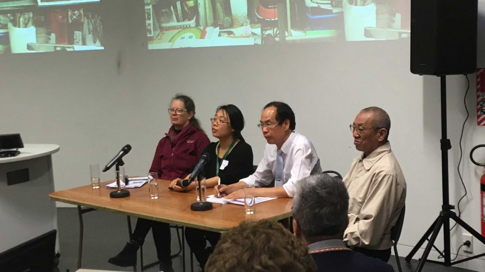 Sydney Shep chairs special panel with three speakers