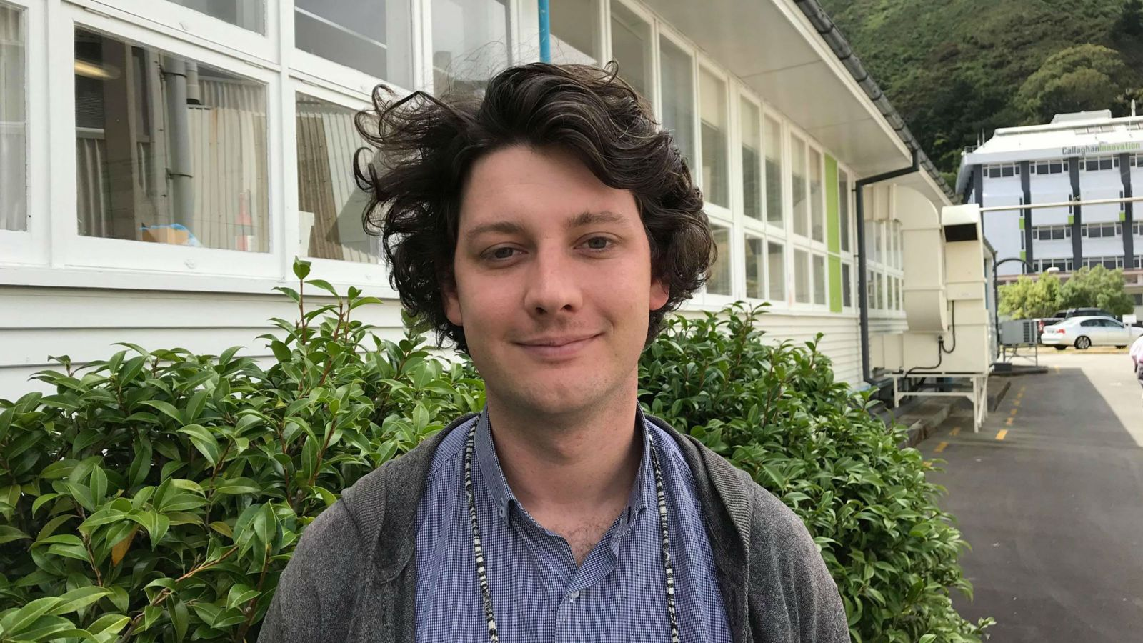 Photo of Liam Sargison
