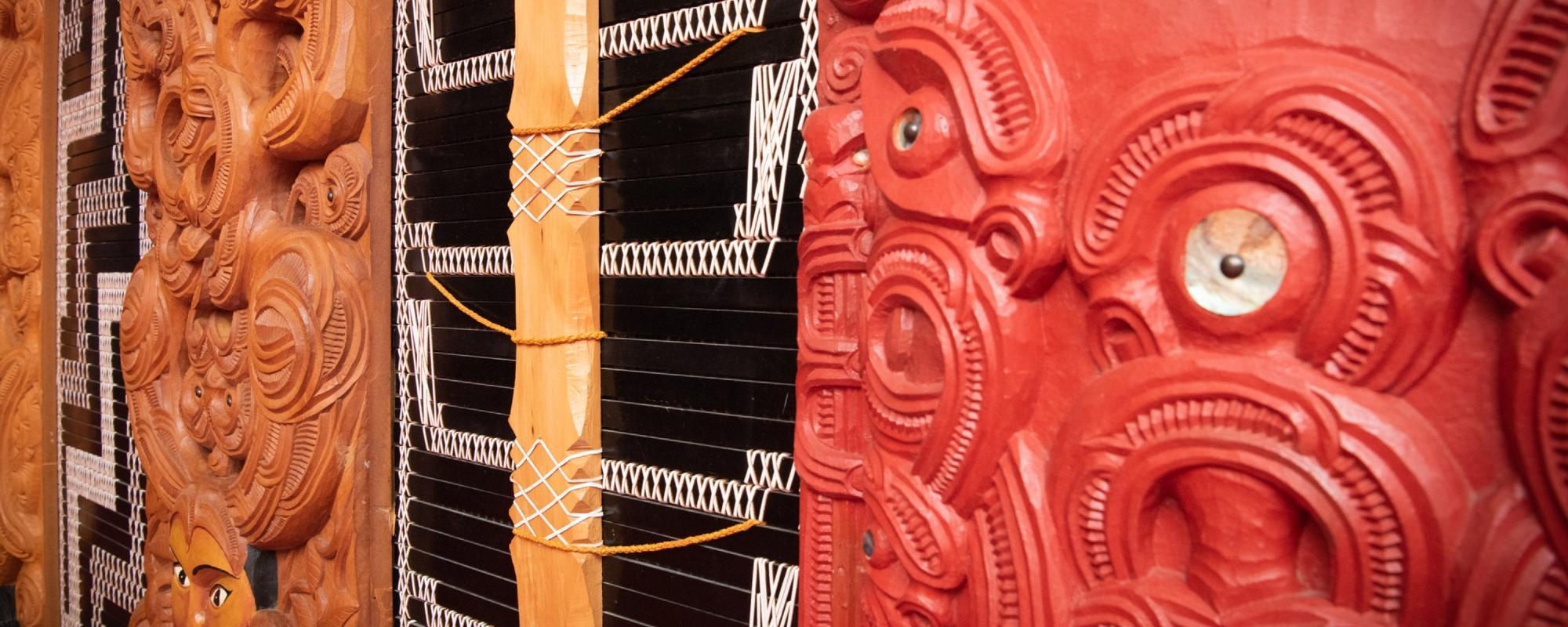 Te Herenga Waka—Victoria University of Wellington's waka.