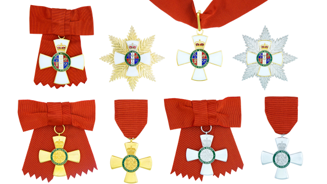 insignia of the new zealand order of merit