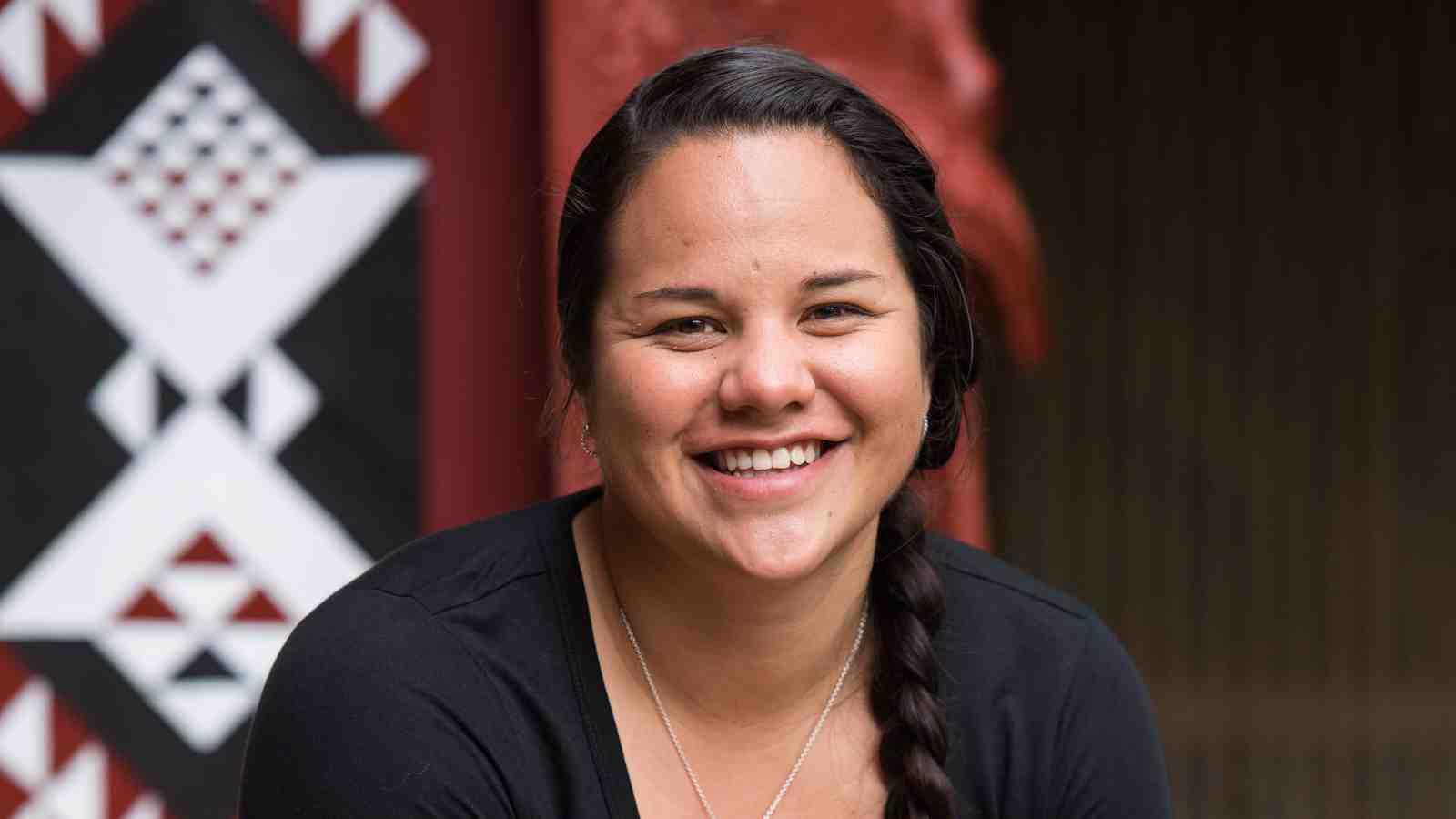 Kahu Haimona at Te Herenga Waka Marae.