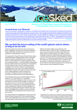 Cover of ARC newsletter IceSked issue 36 June 2021