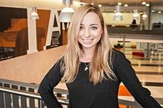 BCom student Anna Batchelar at Victoria Business School