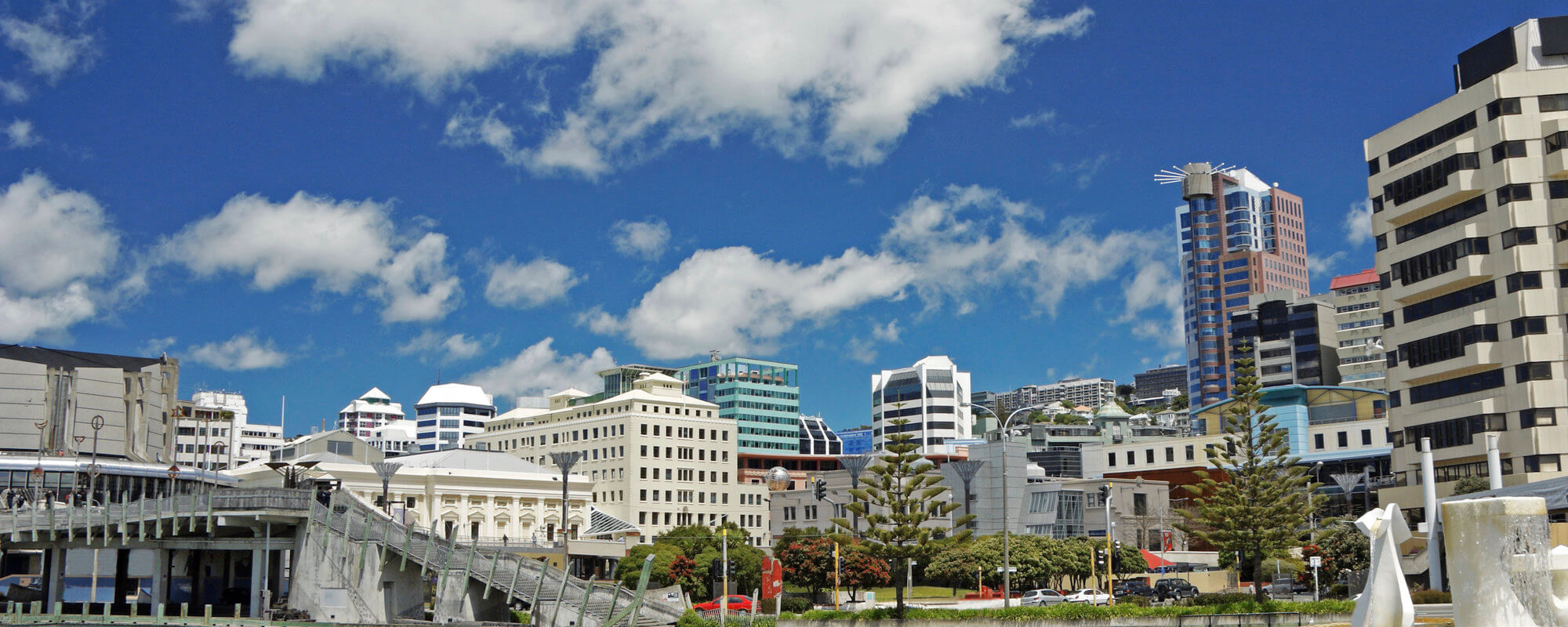 An image of downtown Wellington.