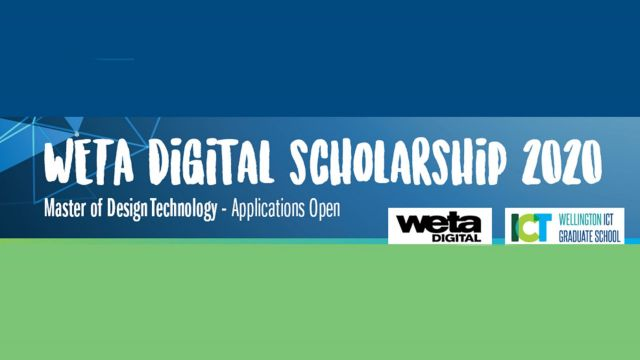A promotion with text that reads, WERA Digital Scholarship 2020 – Master of design Technology - Applications Open.