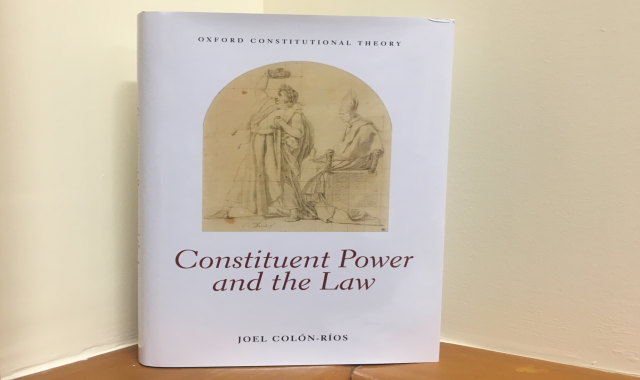 Constituent Power and the Law.