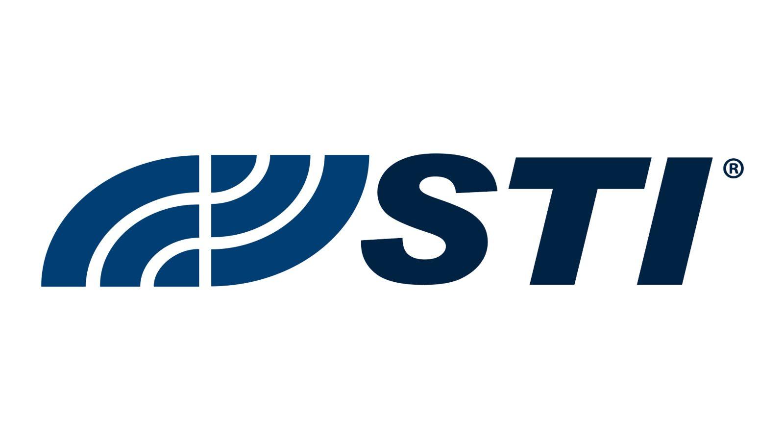 Logo of STI company