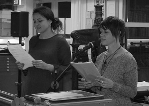 Poet Anahera Gildea and translator Francesca Benocci read Poroporoaki